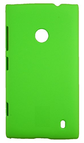 FCS Premium Rubberised Hard Back Case Cover For Nokia Lumia 520 In Matte Finish (Green)  available at amazon for Rs.155