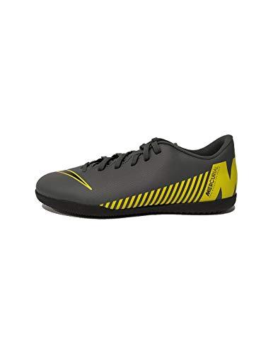 Nike Herren MercurialX Vapor XII Club Fußballschuhe, Grau (Dark Grey/Black-Opti Yellow 070), 40 EU (Nike Tempo Schuhe Fußball)