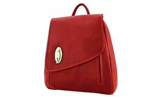 Katana, Borsa a zainetto donna Rosso (rosso)