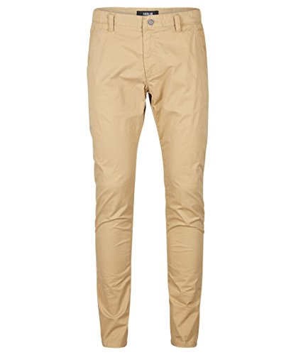 SOLID Herren Chino Hose Pants Joe Crisp Stretch Sommerhose Slim Fit Herrenhose Sand
