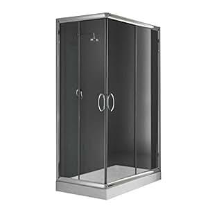 cabine paroi douche 70x90 h185 transparent 6mm mod. Black Bedroom Furniture Sets. Home Design Ideas