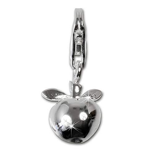SilberDream Charm Schmuck 925 Echt Silber Armband Anhänger Apfel FC3109