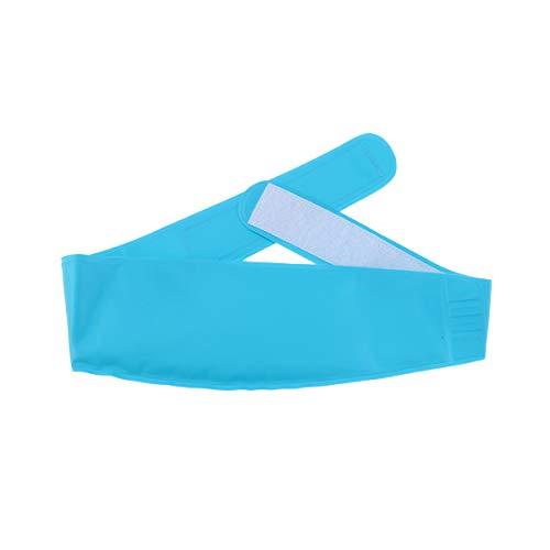 SUPVOX Heiße und kalte Therapie Gel Wrap wiederverwendbare Gel-Eisbeutel für Stirn Ellenbogen Knöchel Knie Handgelenk Bein (Sky Blue) - Therapie Ellenbogen-wrap