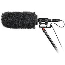 Rycote 033394Softie Kit, NTG Slip-on Micrófono, parabrisas y Shock Mounting Sistema gris/negro