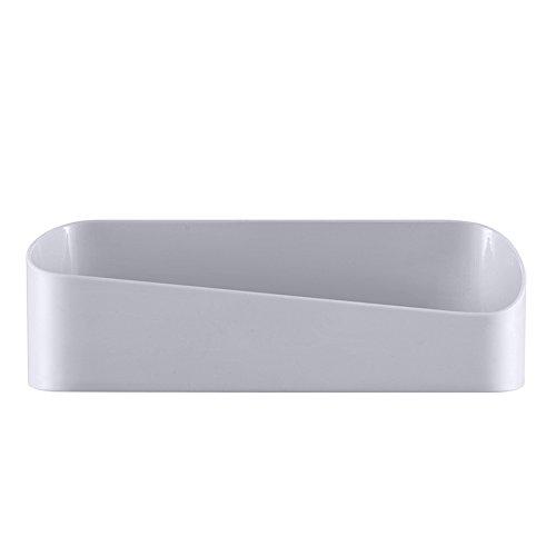 AchidistviQ Badezimmer Küche Aufbewahrung Wand Wandhalter Zum Aufhängen Rack Regal Sink Drainer Organizer Halter grau -
