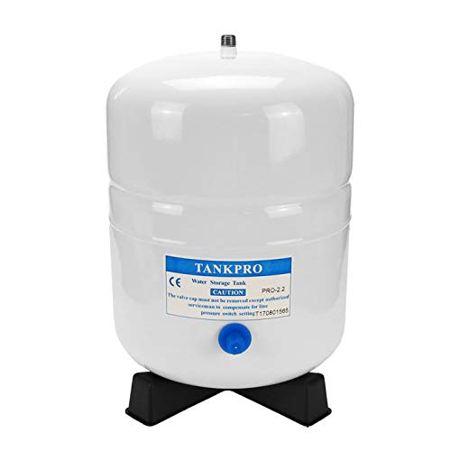 Trinkwasserladen Wassertank Osmose aus Stahl 2,2 Gallonen ca. 8 Ltr. brutto - Vorratsbehälter