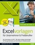 Excelvorlagen für Unternehmer & Freiberufler -