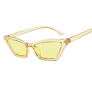 POIUDE Pilotenbrille Damen Verspiegelt Sonnenbrille Polarisiert Vintage Rahmen Spiegel Brillengestell Flache Gläser(Beige, Gratis - Größe)