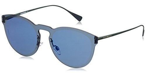 Armani Unisex-Erwachsene 0EA2049 Sonnenbrille, Schwarz/Blau, 5