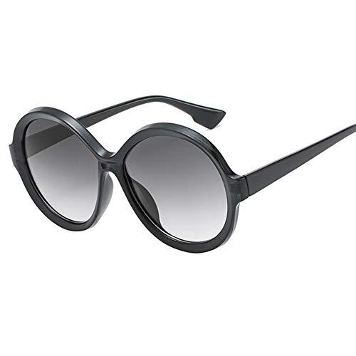 Wenkang Übergroße Runde Sonnenbrille Frauen Farbverlauf Shades Sonnenbrille Für Männer Hohe Qualität Designer Clear Frame Brillen Uv400,4