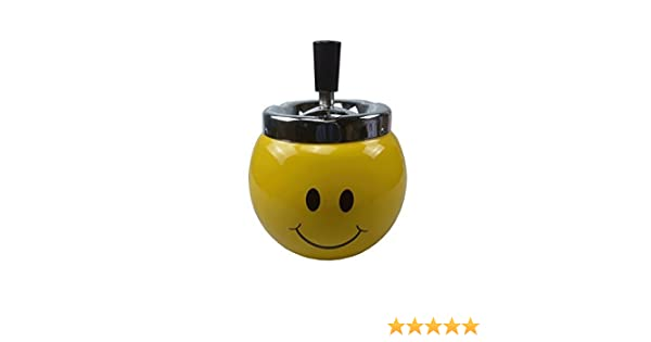 smiley face ashtray