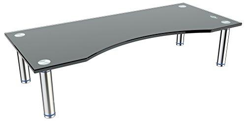 Sharp 4k 70 Für Tv-ständer (RICOO TV Ständer Monitorständer Bildschirmständer Podest FS7024B Universal Standfuß Rack Fernsehständer LCD QLED QE 4K LED OLED IPS SUHD UHD 3D Curved/ 76cm/30
