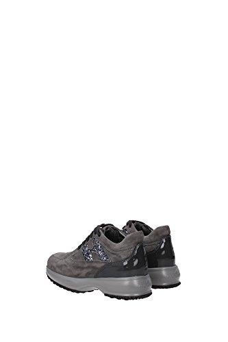 HXC00N0O2409MU372B Hogan Sneakers Kind Wildleder Grau Grau