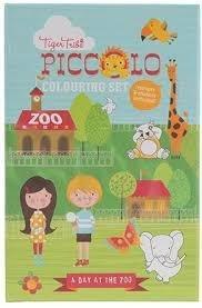 Tiger Tribe Malset Ein Tag im Zoo Libro/álbum para Colorear - Libros y páginas para Colorear (Libro/álbum para Colorear, Niño, Niño/niña, 4 año(s))