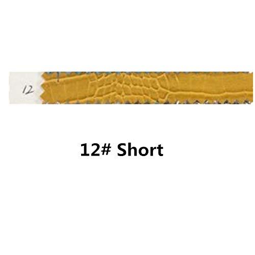andalen Mode Geprägte Mikrofaser Leder Frauen Hohe Stiefel Spitz Western Junge Stiefel Chunky High Heels Schuhe Frau 7 12 Kurz ()