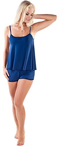 Italian Fashion IF Pyjama Femme Madam 0226 Bleu foncé