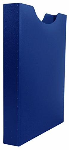 Idena Heftbox, A4 Hochformat, Füllhöhe, 4 cm, blau