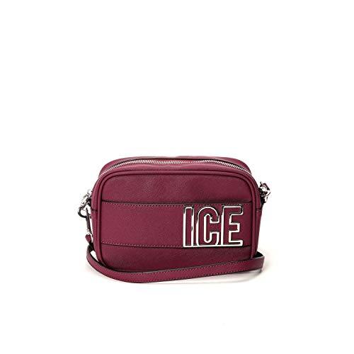 ICE ICEBERG - ICE PLAY Fusion small bag in burgundy saffiano - 72426937 4471 - UNI