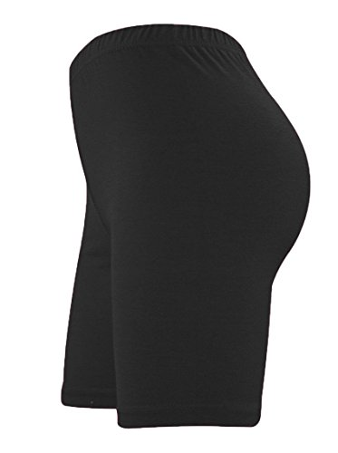 ladies-lycra-cycling-shorts-women-dancing-short-legging-active-causal-shorts-xxl-uk-20-22-black