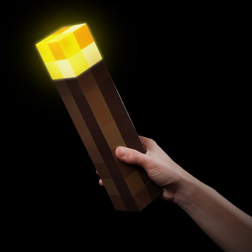 "Minecraft ""Light Up"" Wall Torch"