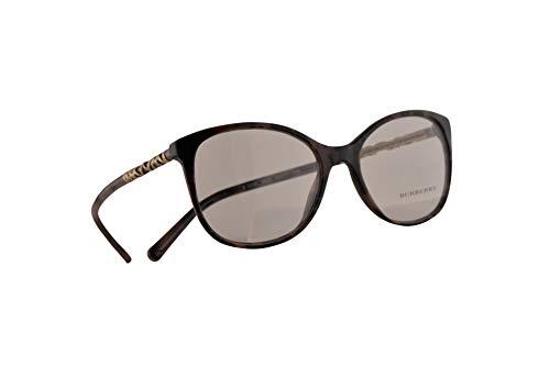 Burberry B 2245-F Brille 54-17-140 Braune Mit Demonstrationsgläsern 3624 BE BE2245 B2245-F