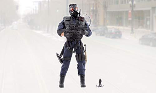 World Peacekeepers SWAT Military Action Man Figure | 30,5cm Alto | 1: 6 Scala | Soldato dell'Esercito di Combattimento con più di 16 Accessori | Destinato a Bambini e Adulti