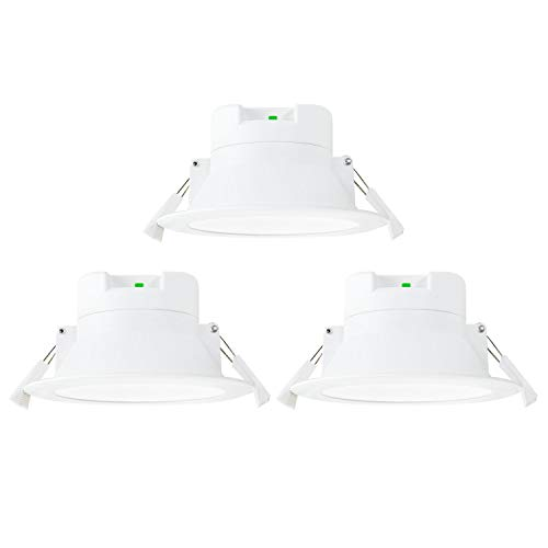 Lamparas Plafones Focos Empotrables de Downlight LED de Techo Regulables Luz Calida...