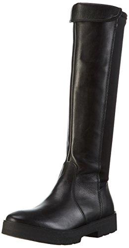 s.Oliver 25609, Bottes Classiques Femme Noir (Black 001)