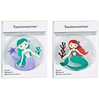 Taschenwärmer Taschenheizkissen Meerjungfrau 2er Set Nr 1 preisvergleich bei billige-tabletten.eu