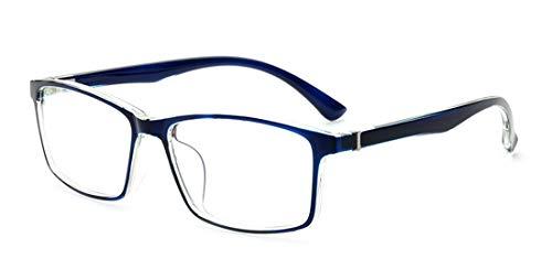Alittle Retro Fake Brille ohne Sehstärke Sonnenbrille Nerd Brille klar