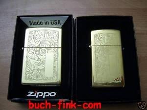 Zippo-Mechero Duo Regular + Slim Venetian Brass