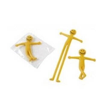 Stretchy Smiley Men Supermen Party Bags Fillers