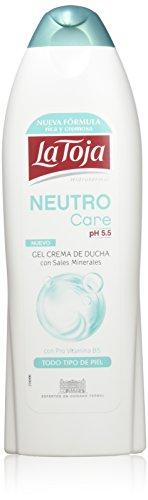 La Toja Gel Neutro Care - Paquete de 6 x 650 ml - Total: 3900 ml