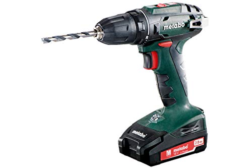 Metabo BS 18 drill Sin llave Negro