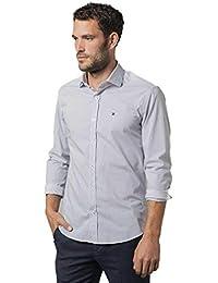 Etiem Camisa Hombre Slim Estampado