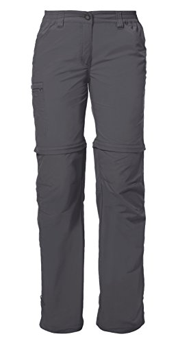 Vaude Damen Women's Farley ZO Pants IV Hose, Iron, 44