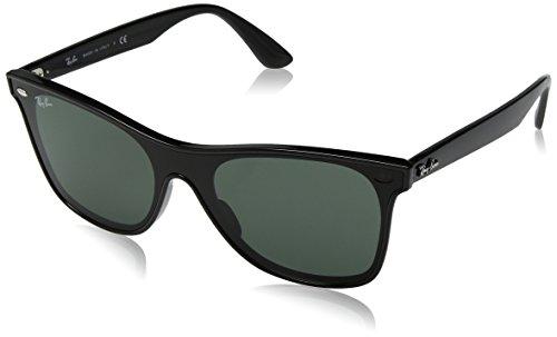 Ray-Ban Unisex-Erwachsene 0RB4440N 601/71 41 Sonnenbrille, Black/Green,
