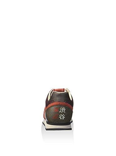 Lotto Leggenda S5814 Chaussures Sports Man Rouge