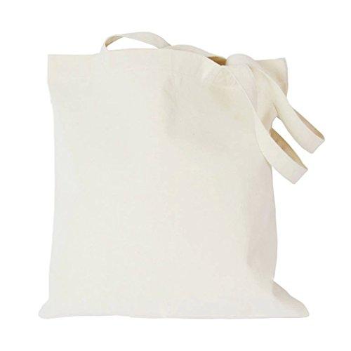 LUFA Normallack Schulter Beutel kleine frische Einkaufstaschen Kursteilnehmer Weiß Mit Reißverschluss