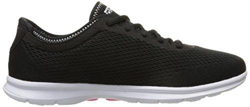 Skechers Go Stepsport, Baskets Basses femme Noir - Noir/blanc