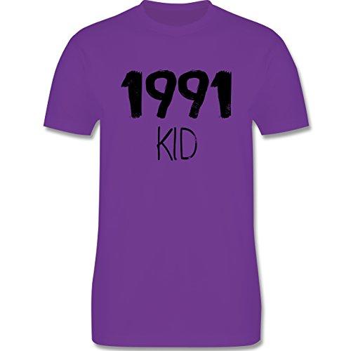 Geburtstag - 1991 KID - Herren Premium T-Shirt Lila