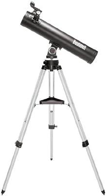 Bushnell Voyager SkyTour Refractor - Telescopio, 114 mm x 900 mm, negro