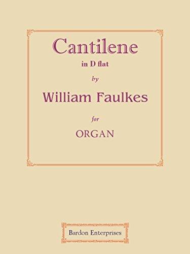 Cantilène in D flat für Orgel