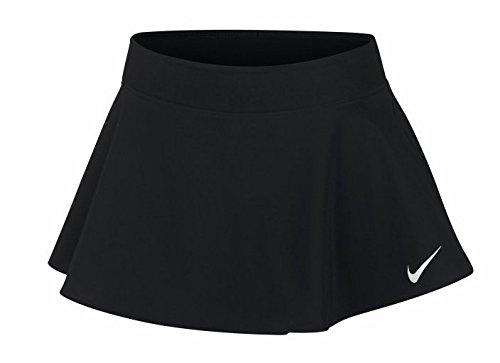 Nike Mädchen Court Pure Tennisrock, Black/Black/Black/(White), L