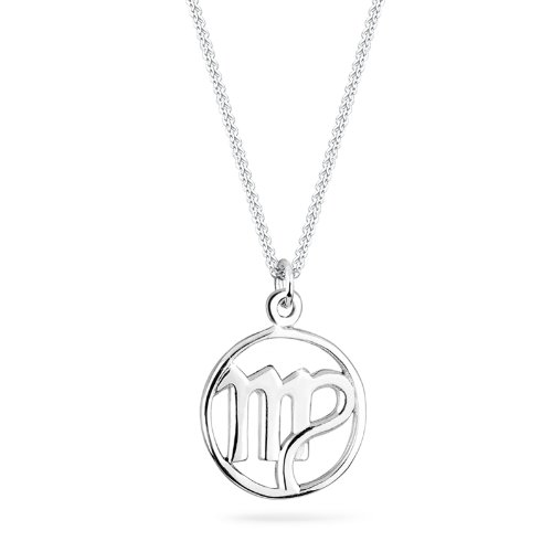 Elli Damen-Kette mit Anhänger Sternzeichen - 925 Sterling Silber