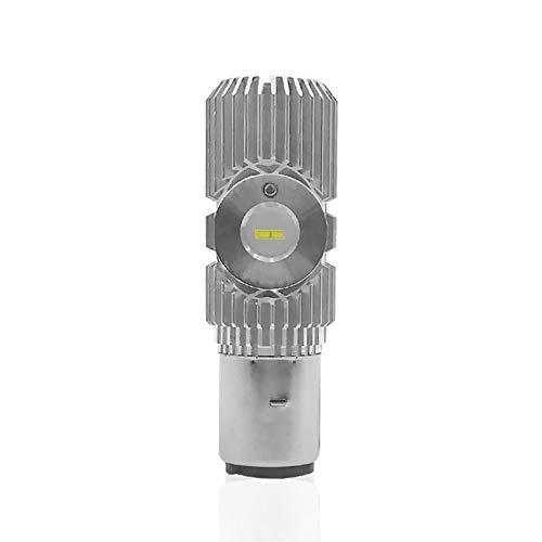 LanLan Phare de la Moto LED BA20D 1500LM 18W Faisceau Accessoires Lampe Ampoule Phare