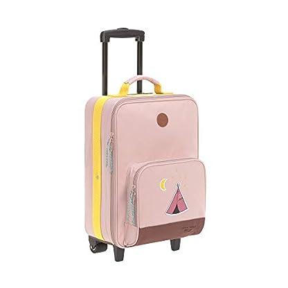 LSSIG-Kinder-Trolley-Kindergepck-Reisekoffer-mit-Packriemen-und-Rollen-Kids-Trolley-Adventure