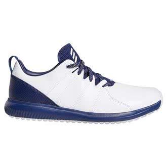 adidas , Herren Golfschuhe, Weiß - Weiß/Dunkelblau - Größe: 44 EU