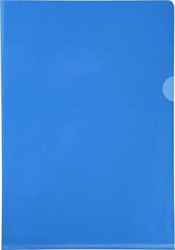 Exacompta 660525E Buste, 31 x 22 x 0.40 cm, Blu