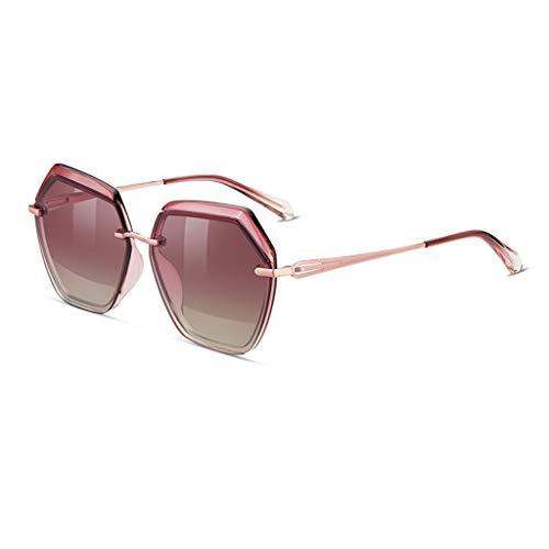 SYXYSM Polygonal Sonnenbrillen Sonnenbrillen Frauen Sonnenbrillen sind Nicht leicht zu verblassen optional Mehrfarbig Sonnenbrille (Color : C)